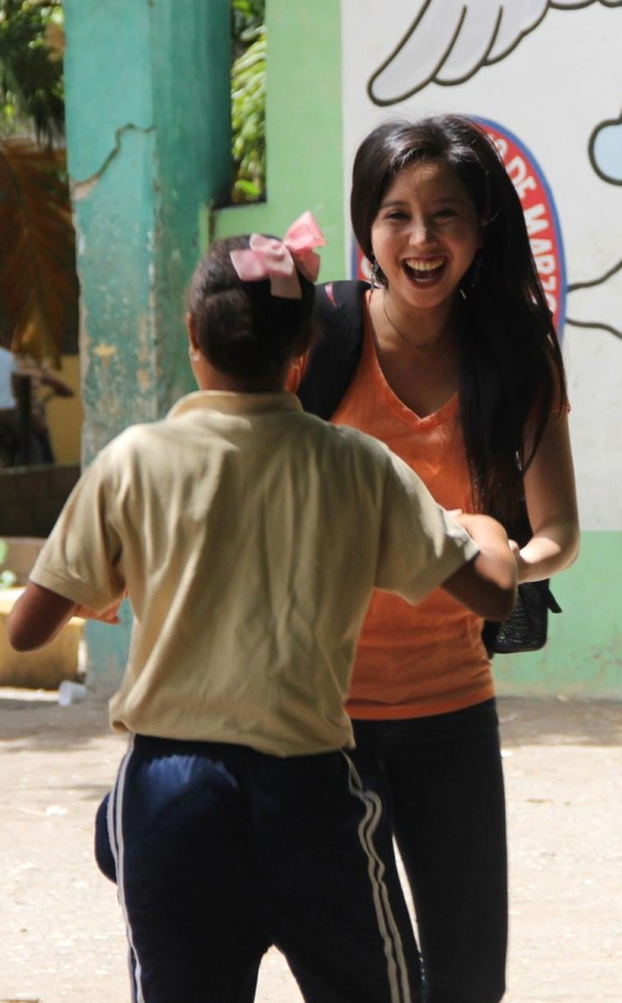 Pure joy in the Dominican Republic.