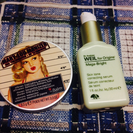 My two go-to products for glowing skin!
